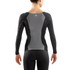 Skins DNAmic Women's Long Sleeve Top - Black/Limoncello: Image 2