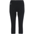 Skins A200 Women's Thermal 3/4 Tights - Black/Glacier: Image 2