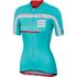 Sportful Gruppetto Women's Short Sleeve Jersey - Blue/White/Pink: Image 1