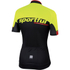 Sportful SC Team Short Sleeve Jersey - Black/Yellow: Image 2