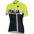 Sportful Italia IT Short Sleeve Jersey - Black/Yellow: Image 1
