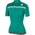 Sportful Allure Women's Short Sleeve Jersey - Green: Image 1