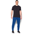 Under Armour Men's Tri-Blend Fleece Jogger Trousers - Blue: Image 3