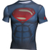 Under Armour Men's Transform Yourself Superman Compression Short Sleeve Shirt - Navy Blue: Image 1