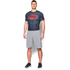 Under Armour Men's Transform Yourself Superman Compression Short Sleeve Shirt - Navy Blue: Image 3