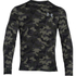 Under Armour Men's Storm Rival Fleece Printed Crew Sweatshirt - Green/Grey: Image 1