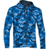 Under Armour Men's Storm Rival Fleece Printed Hoody - Blue: Image 1