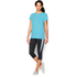 Under Armour Women's Favourite Short Sleeve Crew T-Shirt - Sky Blue: Image 3