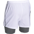 Under Armour Men's Mirage 2 in 1 Training Shorts - White: Image 2