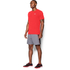 Under Armour Men's Streaker Run Short Sleeve T-Shirt - Red: Image 4