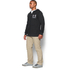 Under Armour Men's Tri-Blend Fleece Hoody - Black: Image 4