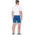 Under Armour Men's HeatGear Armour Printed Compression Shorts - Blue/Yellow: Image 5