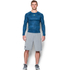 Under Armour Men's HeatGear Armour Long Sleeve Compression Shirt - Black/Blue: Image 3