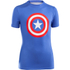 Under Armour Boy's Transform Yourself Captain America Baselayer - Blue: Image 1