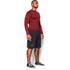 Under Armour Men's ColdGear Armour Twist Compression Crew Top - Red/Black: Image 4