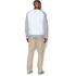 Under Armour Men's Tri-Blend Fleece Crew Sweatshirt - White: Image 5