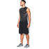 Under Armour Men's HeatGear CoolSwitch Compression Tank Top - Black/Grey: Image 4