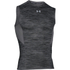 Under Armour Men's HeatGear CoolSwitch Compression Tank Top - Black/Grey: Image 1
