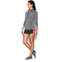 Under Armour Women's Tech 1/2 Zip Twist Long Sleeve Top - Black: Image 4