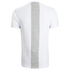 4Bidden Men's Longline Aim T-Shirt - White: Image 2