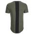 4Bidden Men's Longline Aim T-Shirt - Khaki: Image 2