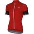 Castelli Entrata 2 Short Sleeve Jersey - Red: Image 1