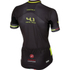 Castelli Free AR 4.1 Short Sleeve Jersey - Black/Yellow: Image 2