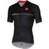 Castelli Scotta Short Sleeve Jersey - Black: Image 1