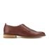 Oliver Spencer Men's Dover Shoes - Tan Leather: Image 1