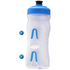 Fabric Cageless Water Bottle (600ml) - Clear/Cyan: Image 3