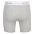 Calvin Klein Men's 2 Pack Boxer Briefs - Black/Grey Heather: Image 3