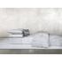 Calvin Klein Claytonia Dash Fitted Sheet - White: Image 2