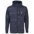 Jack & Jones Men's Core Keep Zip Through Hoody - Navy Blazer: Image 1