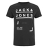 Jack & Jones Men's Core Fate T-Shirt - Black: Image 1