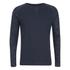 Jack & Jones Men's Core Inc Long Sleeve T-Shirt - Navy Blazer: Image 1