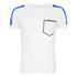 Jack & Jones Men's Core Block T-Shirt - White: Image 1