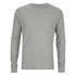 Jack & Jones Men's Core Inc Long Sleeve T-Shirt - Light Grey Marl: Image 1