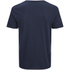 Jack & Jones Men's Originals Raw Stripe Pocket T-Shirt - Dark Blue Denim: Image 2