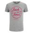 Jack & Jones Men's Originals Copenhagen T-Shirt - Light Grey Marl: Image 1