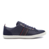 PS by Paul Smith Men's Osmo Leather Low Top Trainers - Galaxy Mono Lux: Image 1