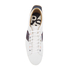 PS by Paul Smith Men's Osmo Leather Low Top Trainers - White Mono Lux: Image 3