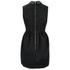 McQ Alexander McQueen Women's Studded Collar Party Dress - Black: Image 4