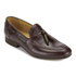 H Shoes by Hudson Men's Pierre Croc Leather Tassle Loafers - Brown: Image 2
