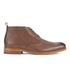 H Shoes by Hudson Men's Lenin Leather Desert Boots - Brown: Image 1
