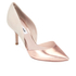Dune Women's Cindee Leather Court Shoes - Rose Gold: Image 2
