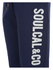 Soul Cal Men's Large Logo Cuffed Sweatpants - Navy: Image 3