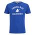 Soul Cal Men's Cracked Print T-Shirt - Cobalt Blue: Image 1