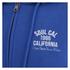 Soul Cal Men's Sleeve Print Logo Zip Through Hoody - Cobalt Blue: Image 3