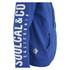 Soul Cal Men's Sleeve Print Logo Zip Through Hoody - Cobalt Blue: Image 4