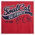 Soul Cal Men's Cracked Print T-Shirt - Ribbon Red: Image 3
